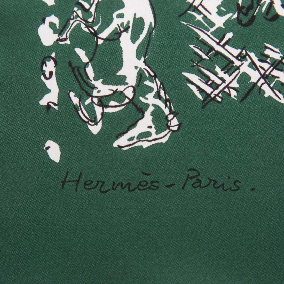 "Hermès ""Ranch Bandana"" 55 & Arny's of Paris Scarf - 6"
