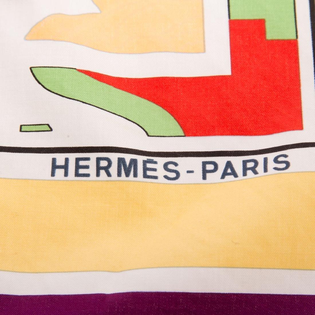 """Hermès""""Puzzle"""" Scarf 65 & """"Arcs en Ciel"""" Scarf 65 - 6"""