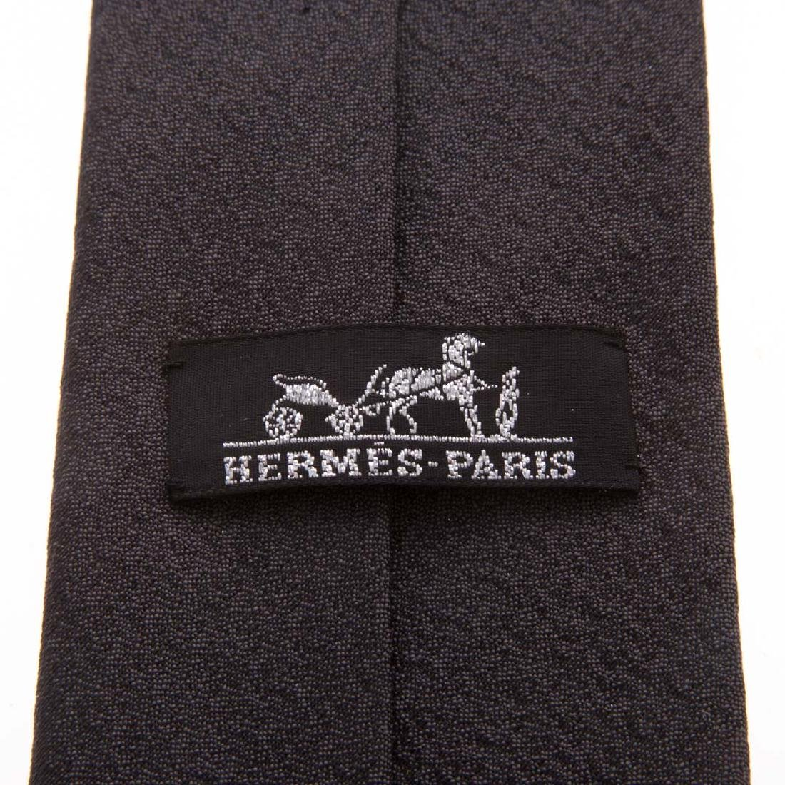 Three Gent's Hermès Dress Ties - 4