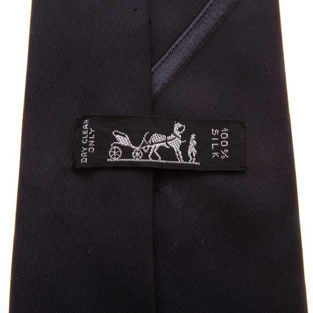 Three Gent's Hermès Dress Ties - 5