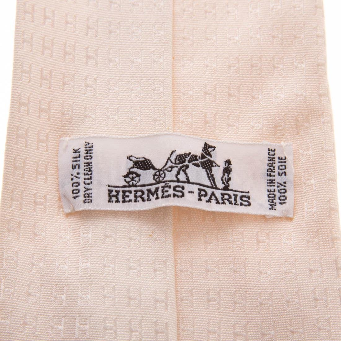 Three Gent's Hermès Dress Ties - 6