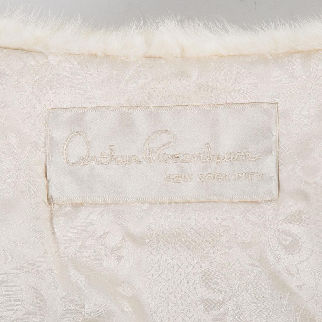 A Lady's Pastel Mink Stole & Mink Cape - 5