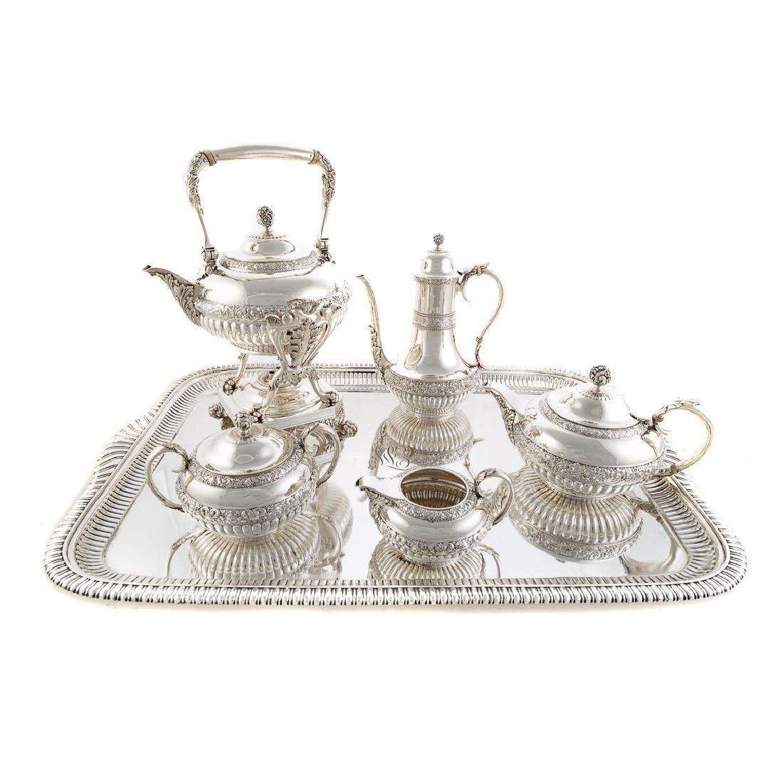 Very fine Tiffany sterling coffee & tea service