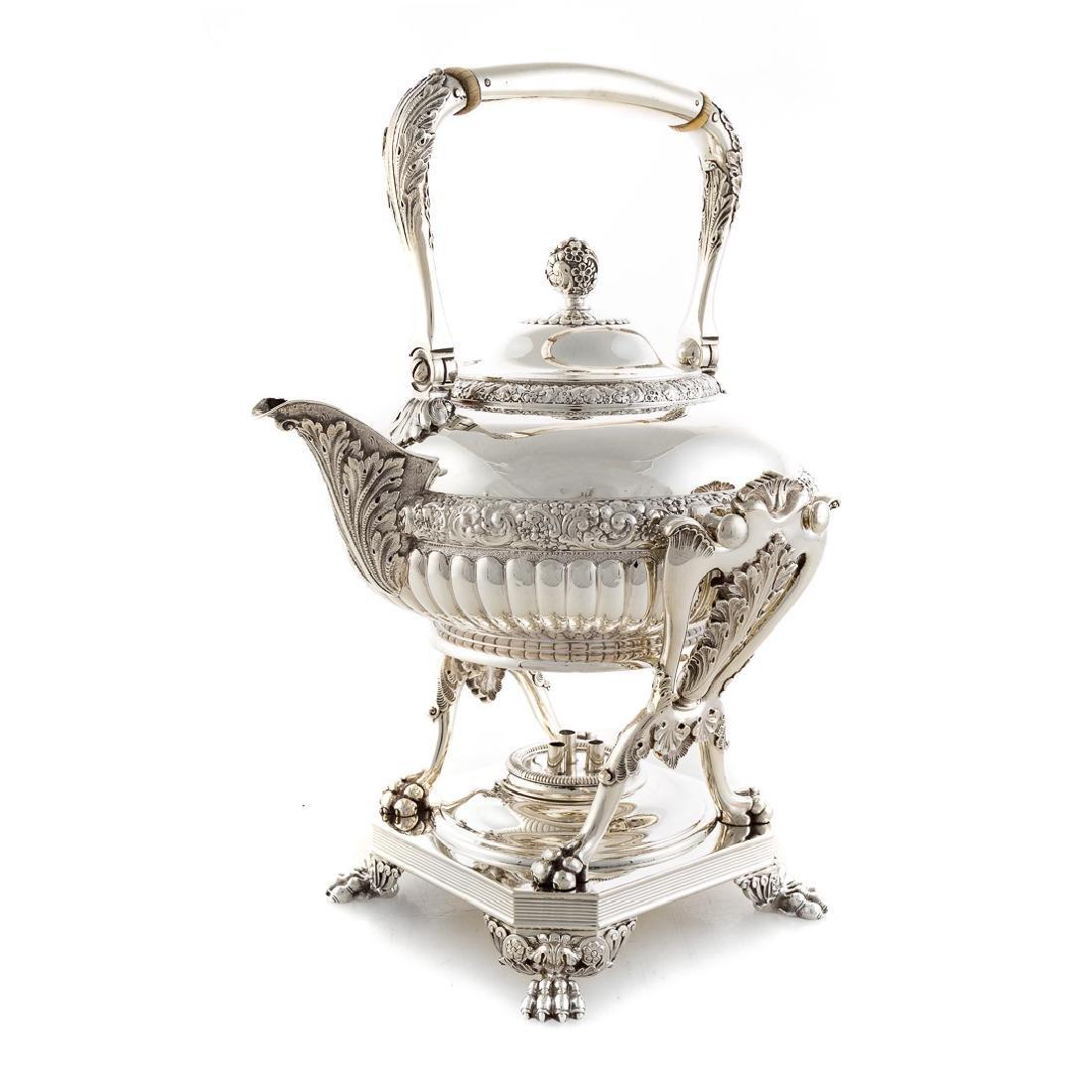 Very fine Tiffany sterling coffee & tea service - 4