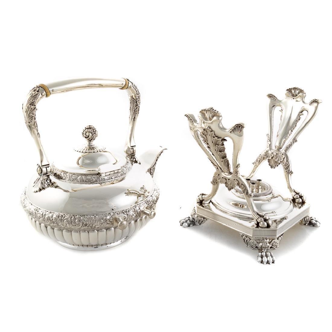 Very fine Tiffany sterling coffee & tea service - 5