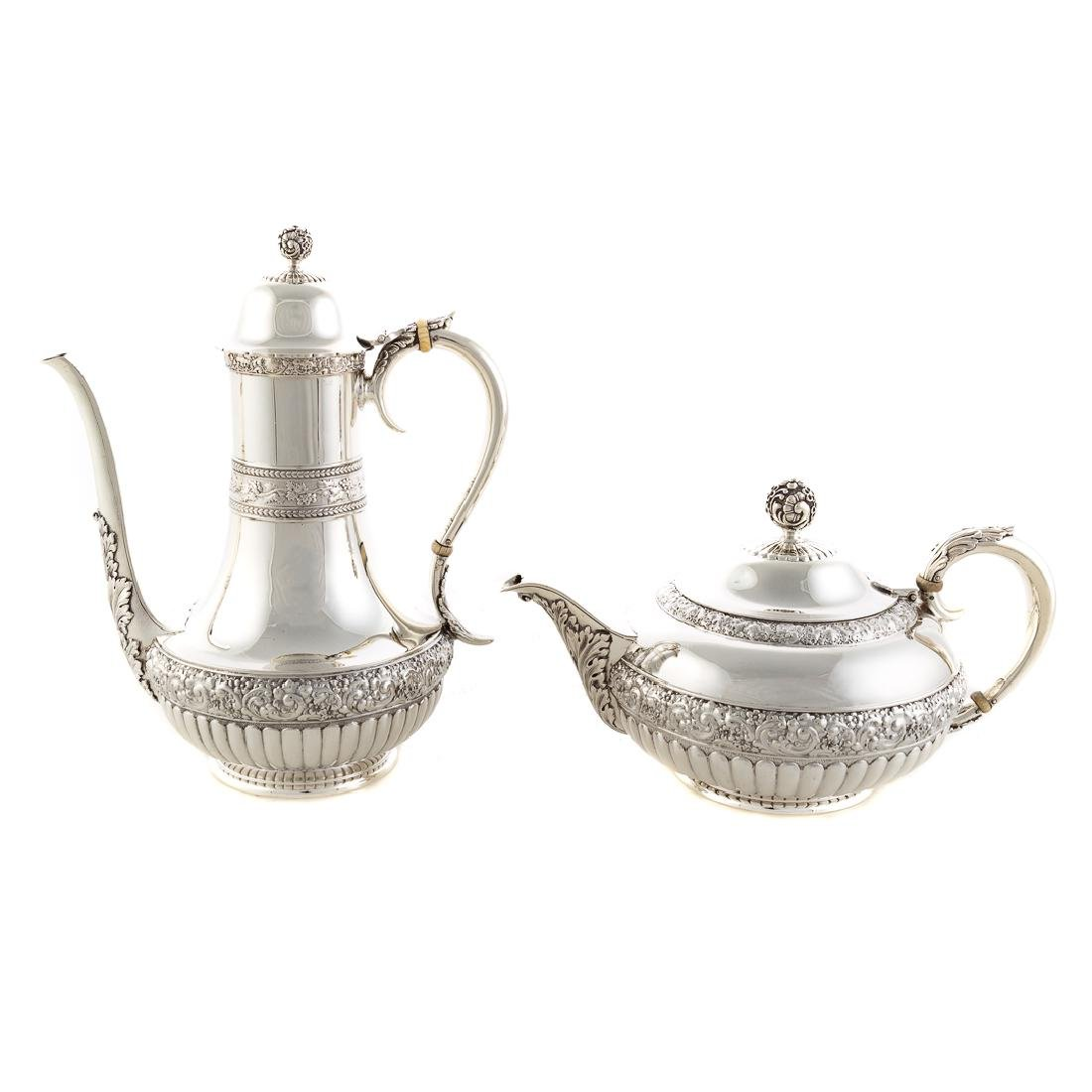 Very fine Tiffany sterling coffee & tea service - 7
