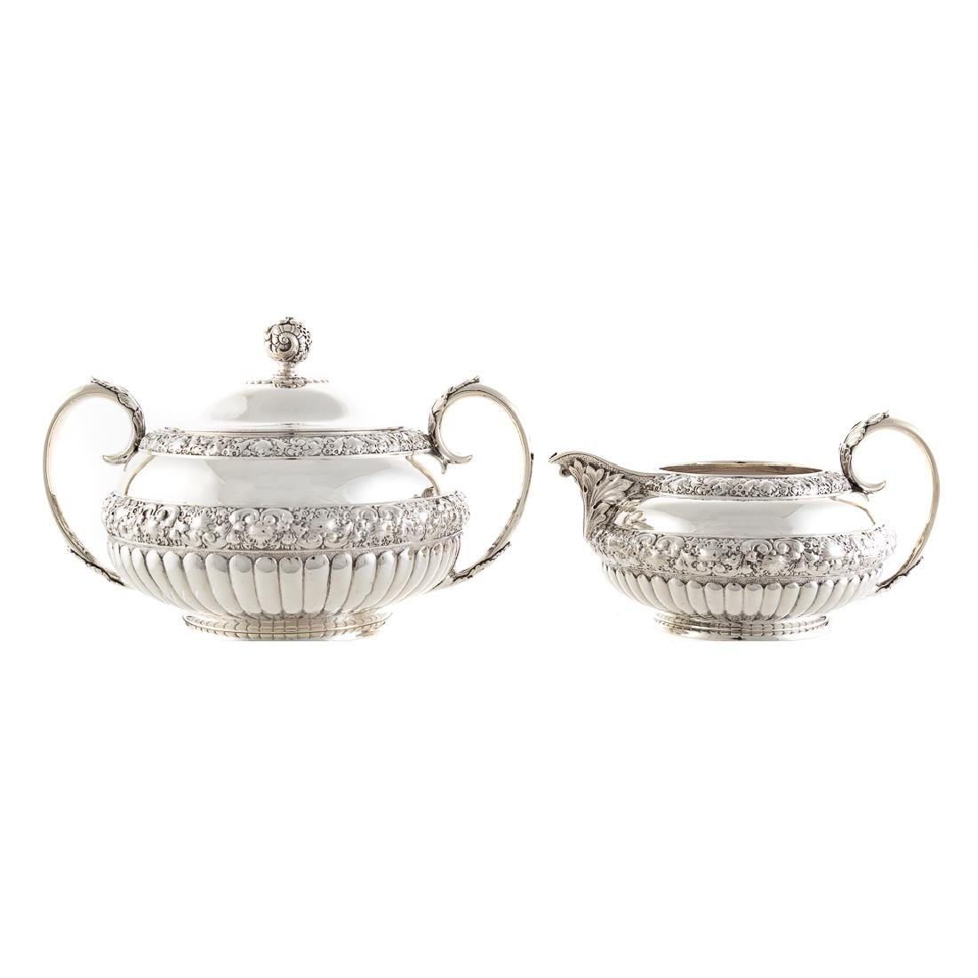 Very fine Tiffany sterling coffee & tea service - 8