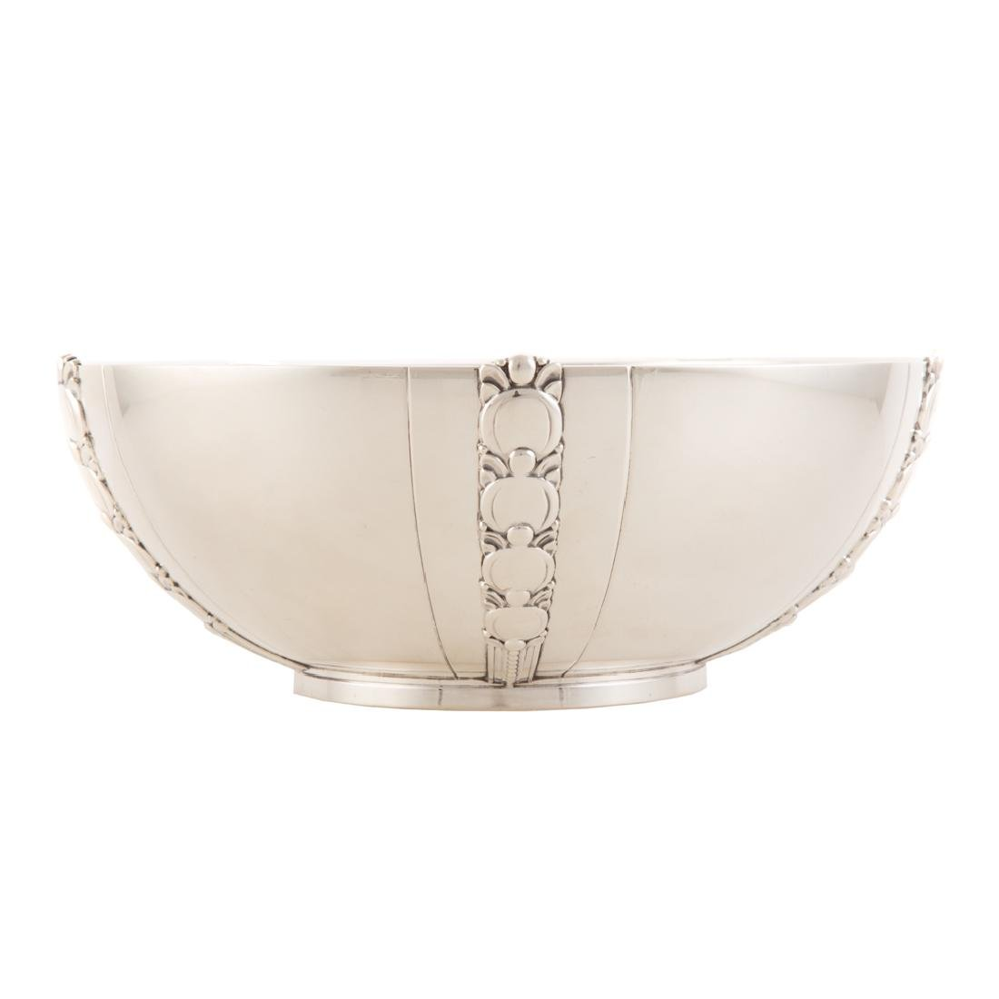 Tiffany & Co. sterling center bowl Tomato pattern