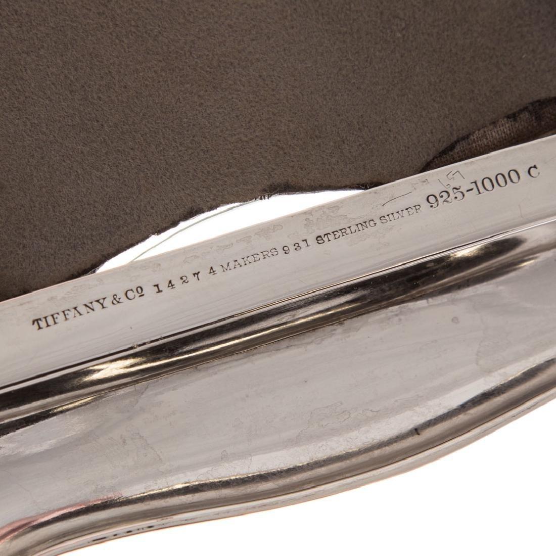 A Trio of sterling silver desk items - 6