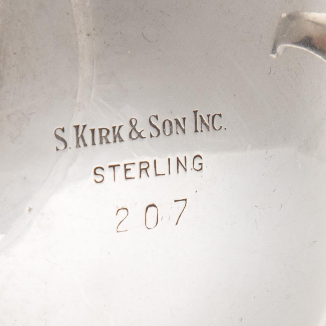 Kirk repousse sterling mayonnaise bowl - 4