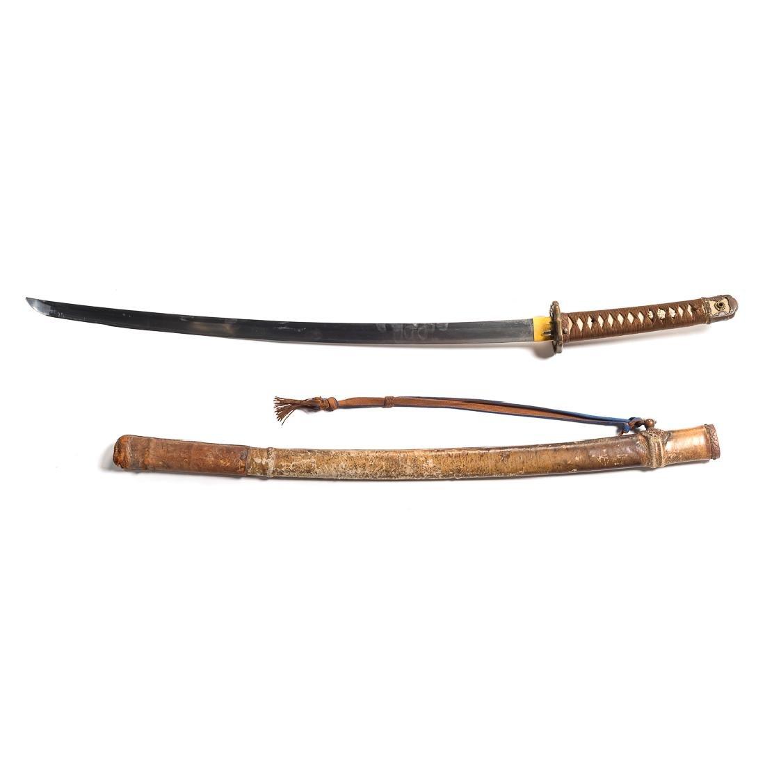 WWII era Japanese Samurai style sword