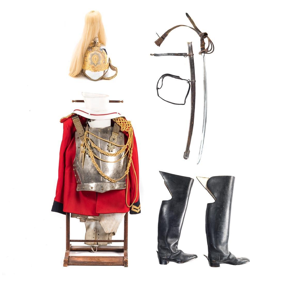 English Horse Guard items