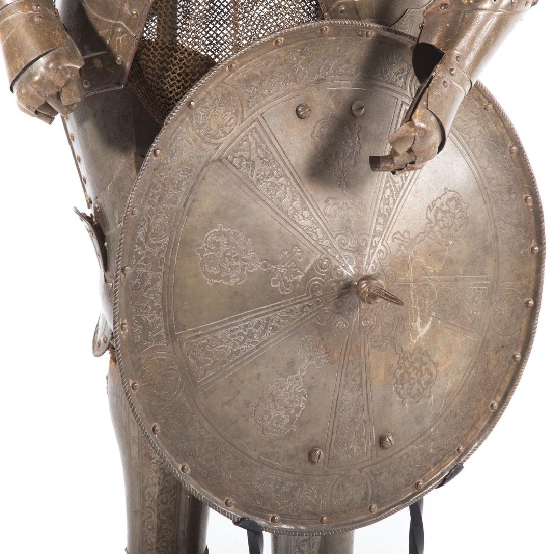 Full-size reproduction suit of armor - 2