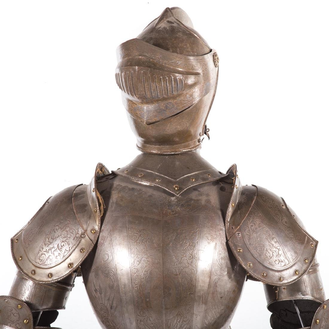 Full-size reproduction suit of armor - 3