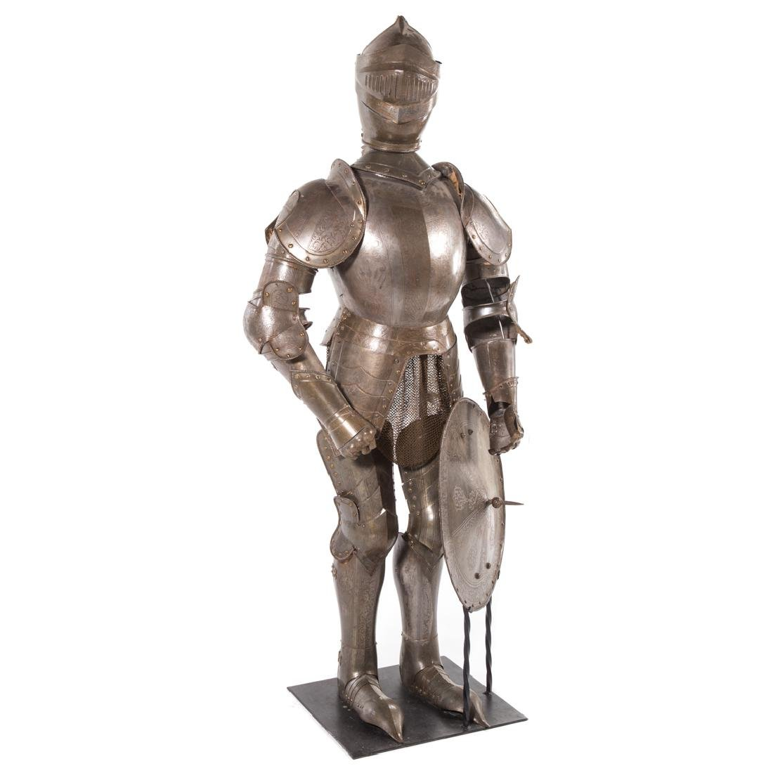 Full-size reproduction suit of armor - 4