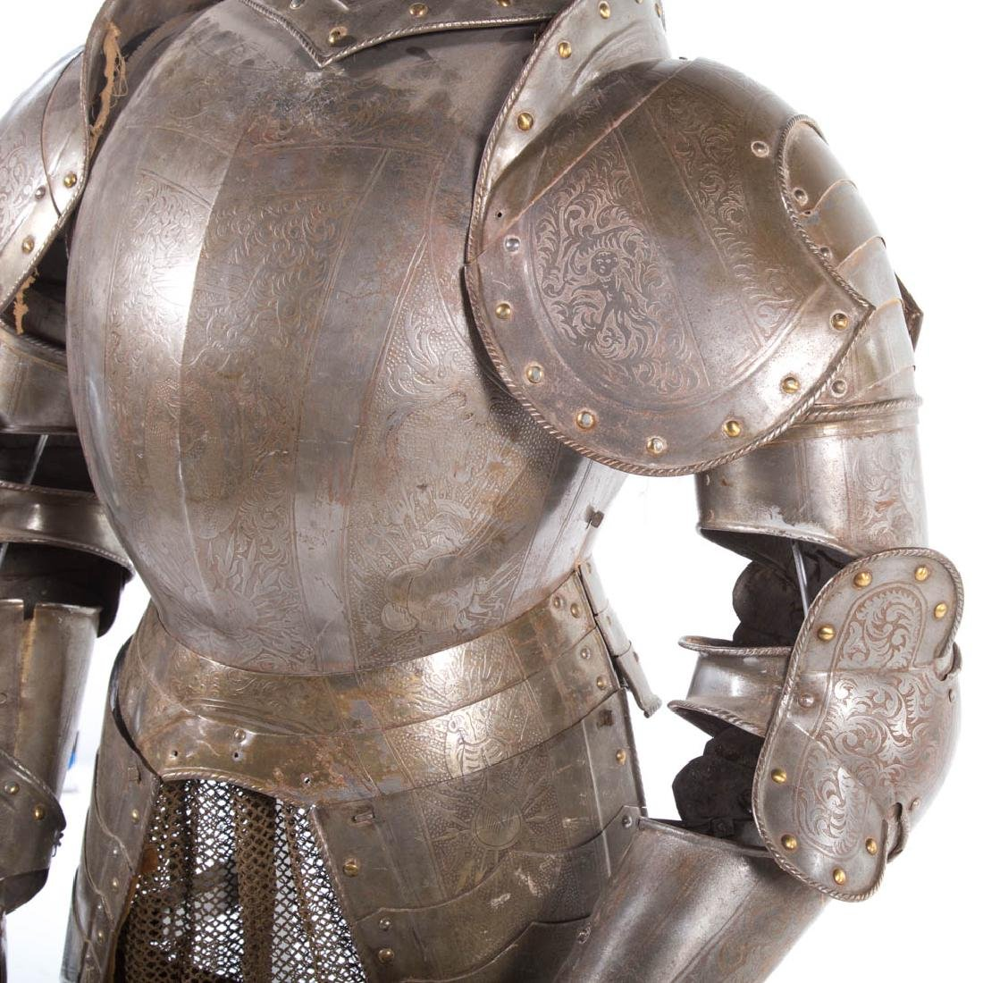 Full-size reproduction suit of armor - 5