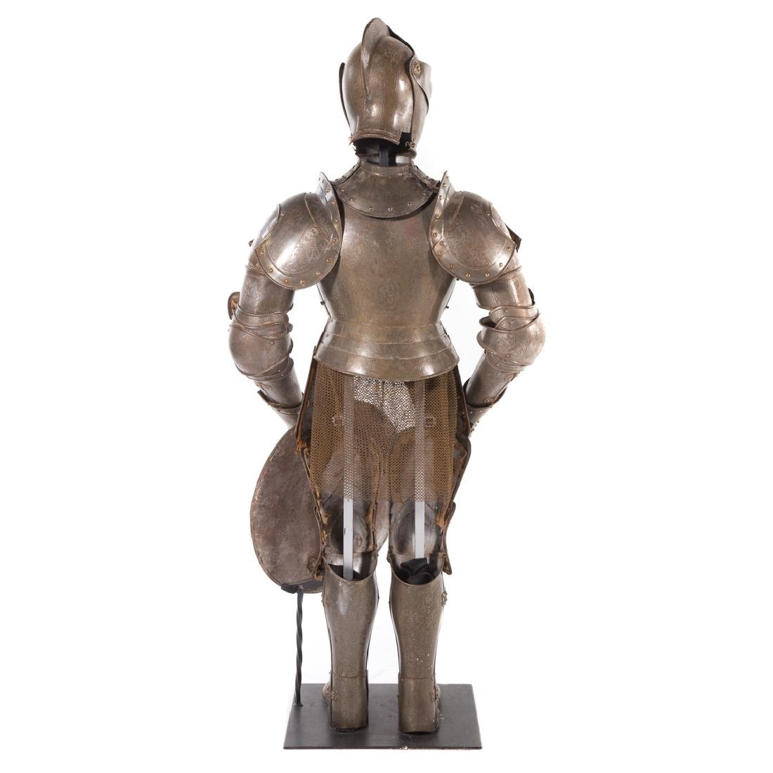 Full-size reproduction suit of armor - 6