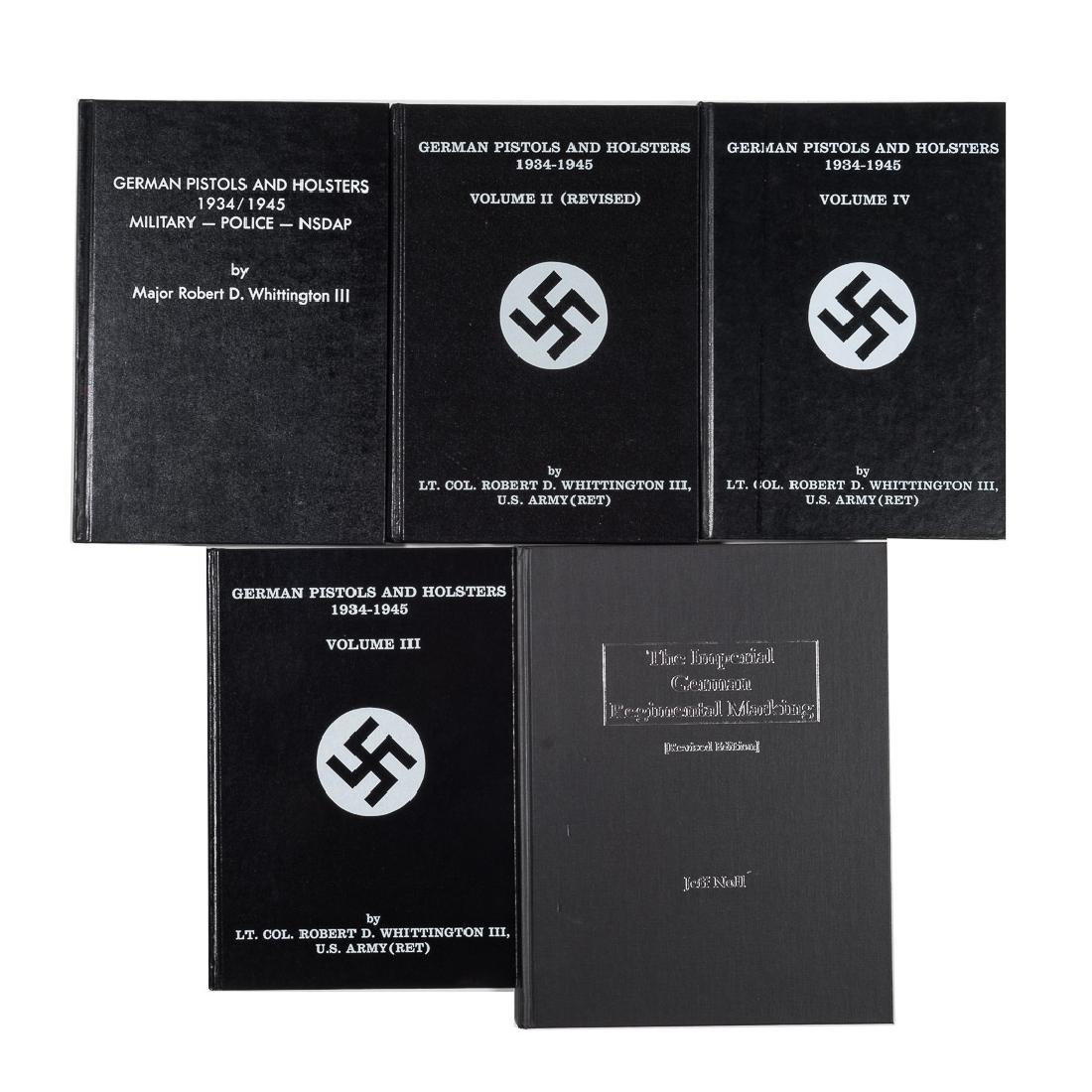 5 hardback books on German militaria - 2