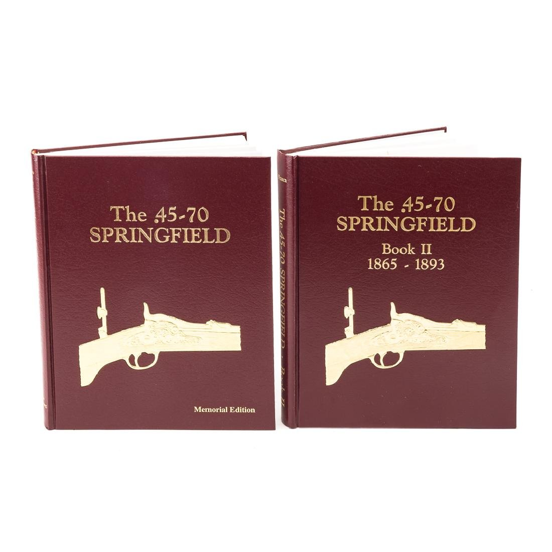 Two books Springfield Rifle