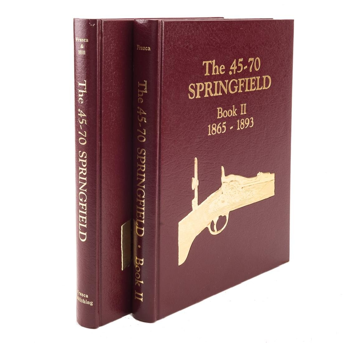 Two books Springfield Rifle - 2