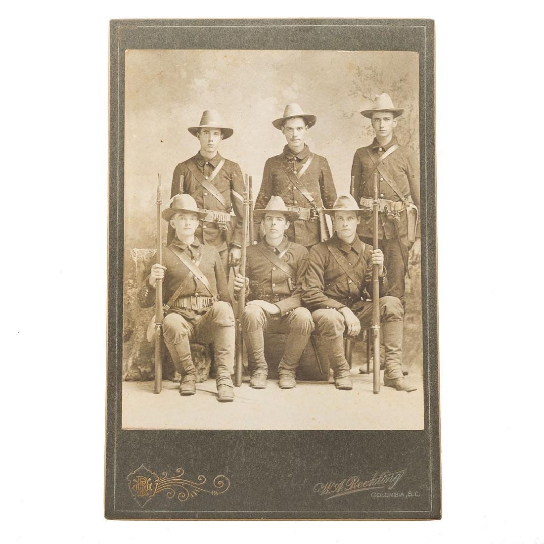 Spanish American War soldiers photograph