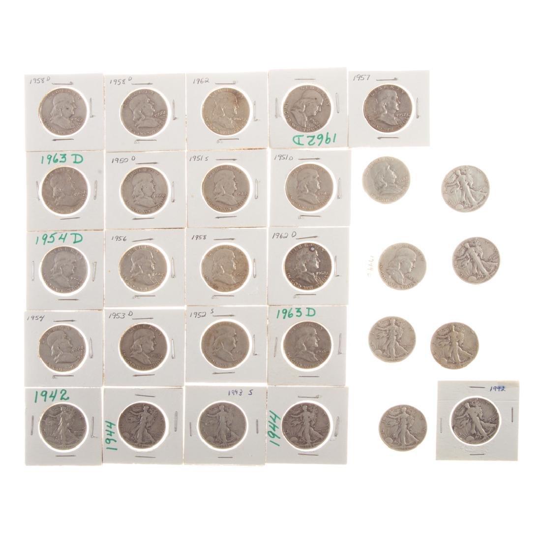 [US] 29 US Silver Halves