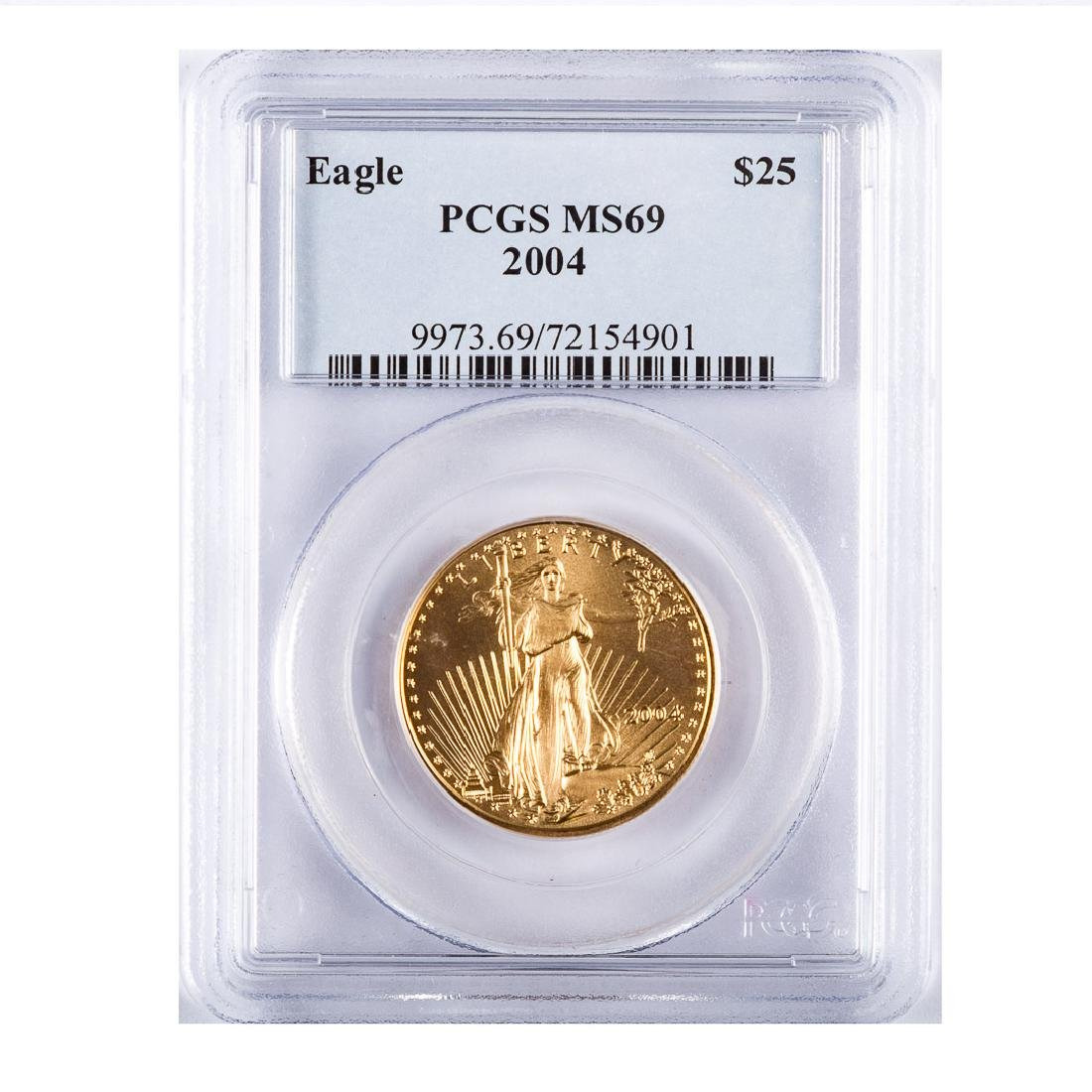 [US] 2004 US Gold $25 Eagle - 1/2 ounce PCGS MS69