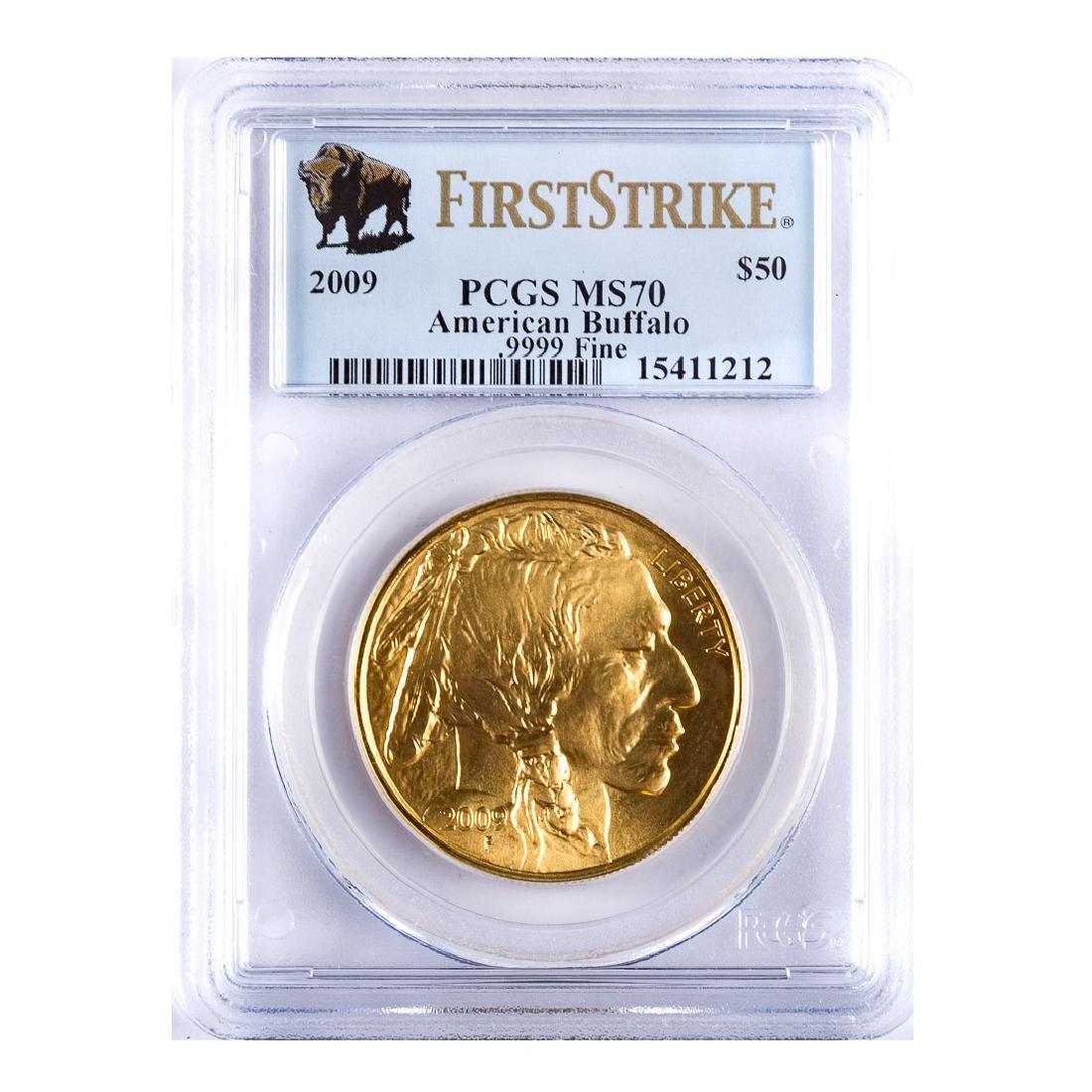 [US] 2009 Gold American Buffalo 1 Oz. PCGS MS70