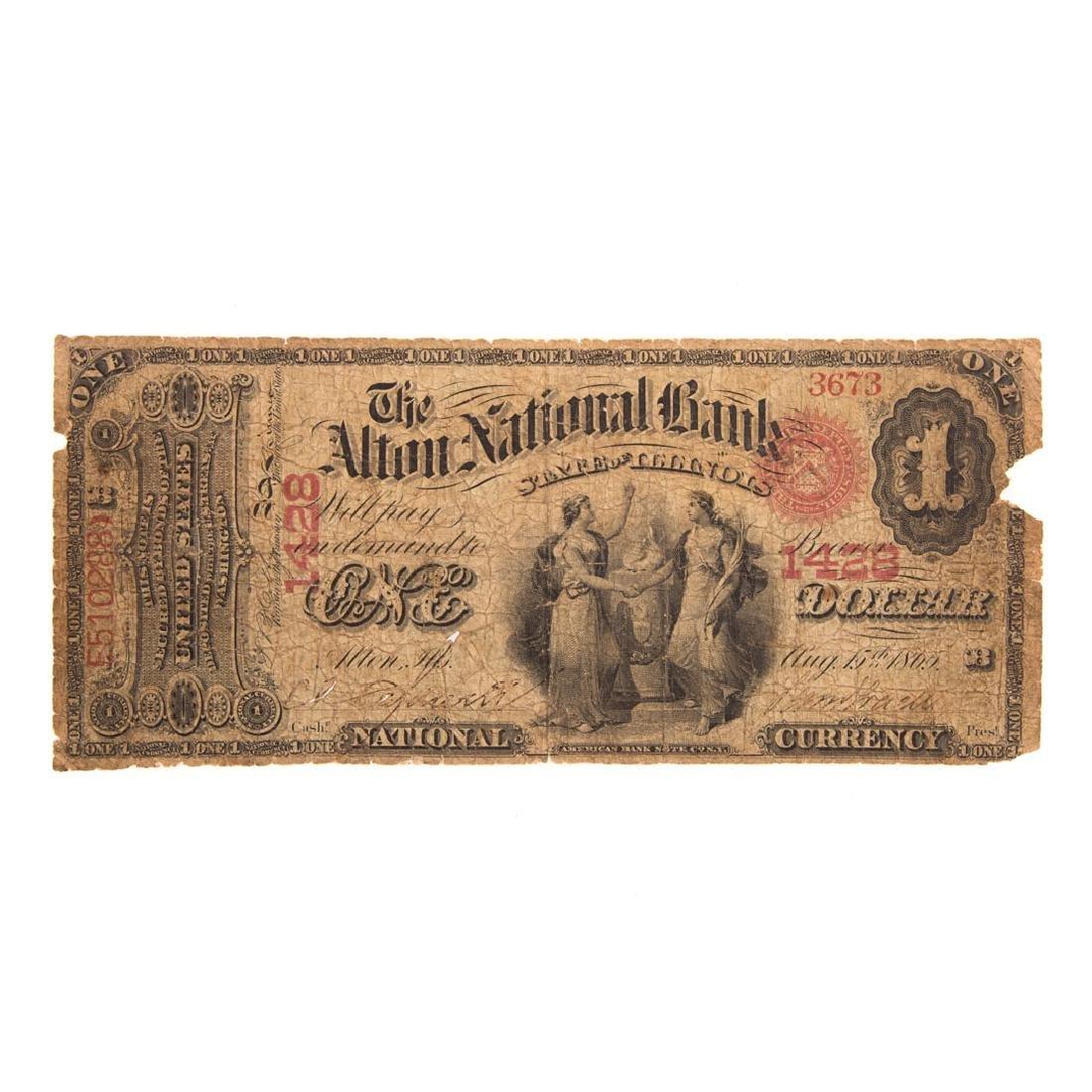 [US] $1 1865 Original Series CH#1428 Fr380b