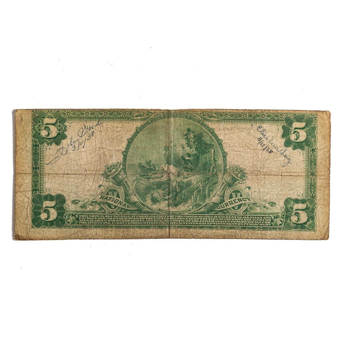 [US] $5 1902 Plain Bank CH# 5312 Fr-607 - 2