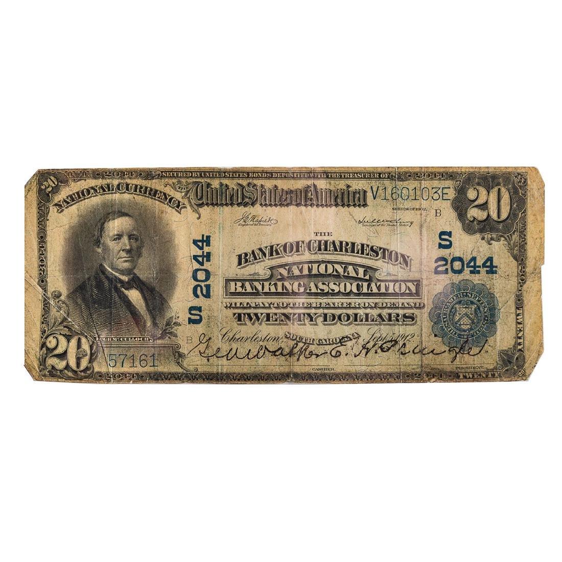 [US] $20 1902 Plain Back CH#2044 Fr-654
