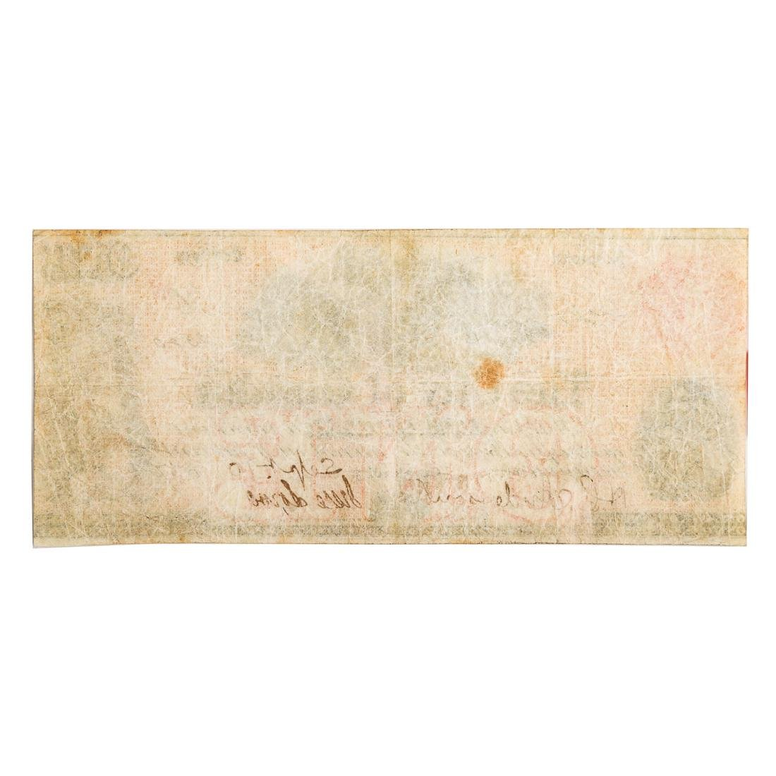 [US] 1857 $1 City of Omaha, Nebraska Territory AU+ - 2
