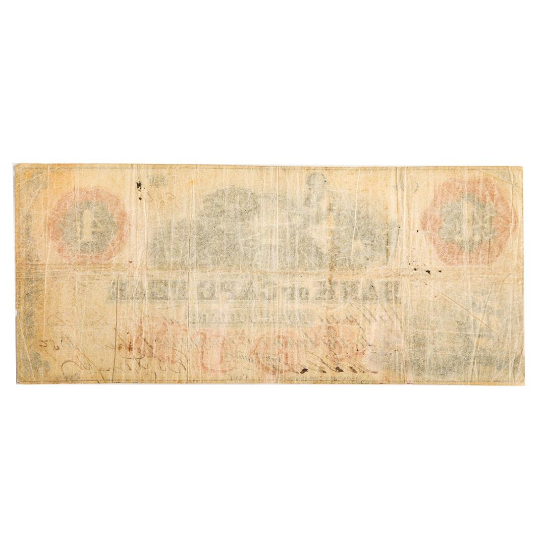 [US] $4 Bank of Cape Fear, 11/1/1859 Wilmington - 2