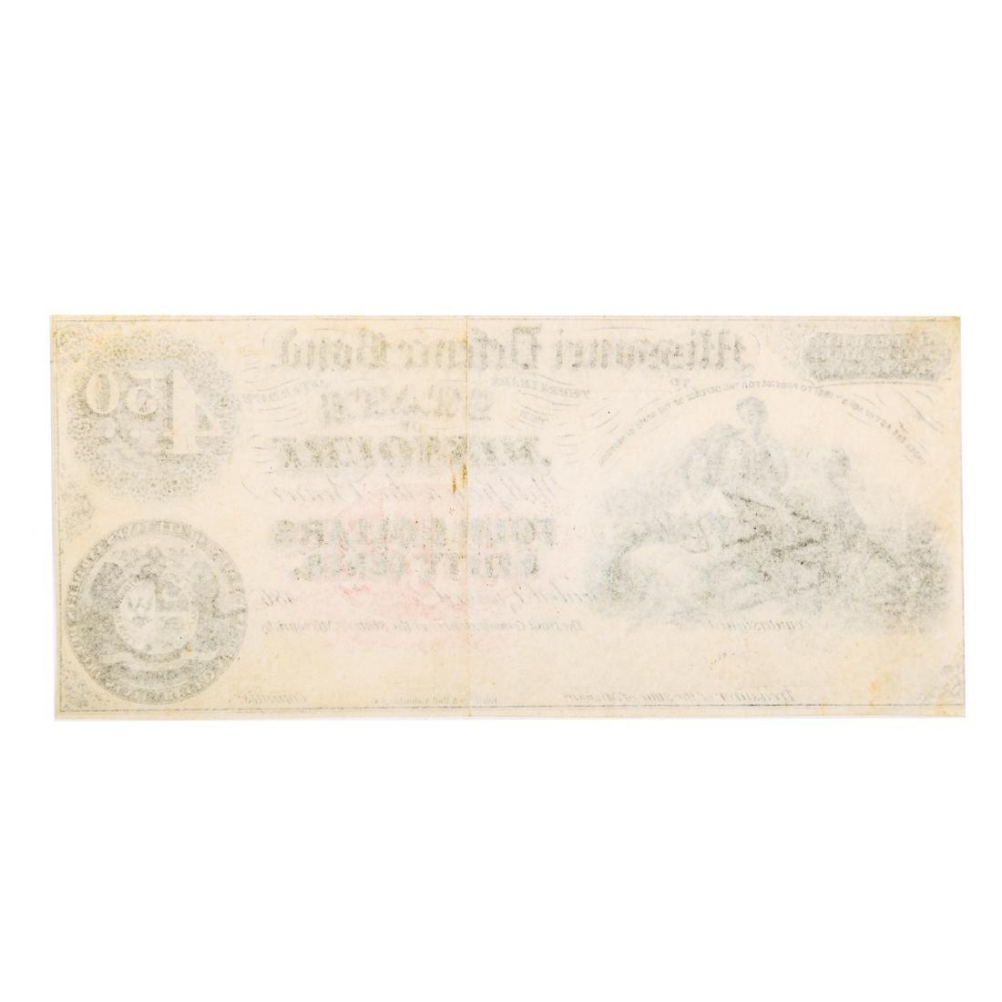 [US] Missouri Defence Bond $4.50 Remainder - 2