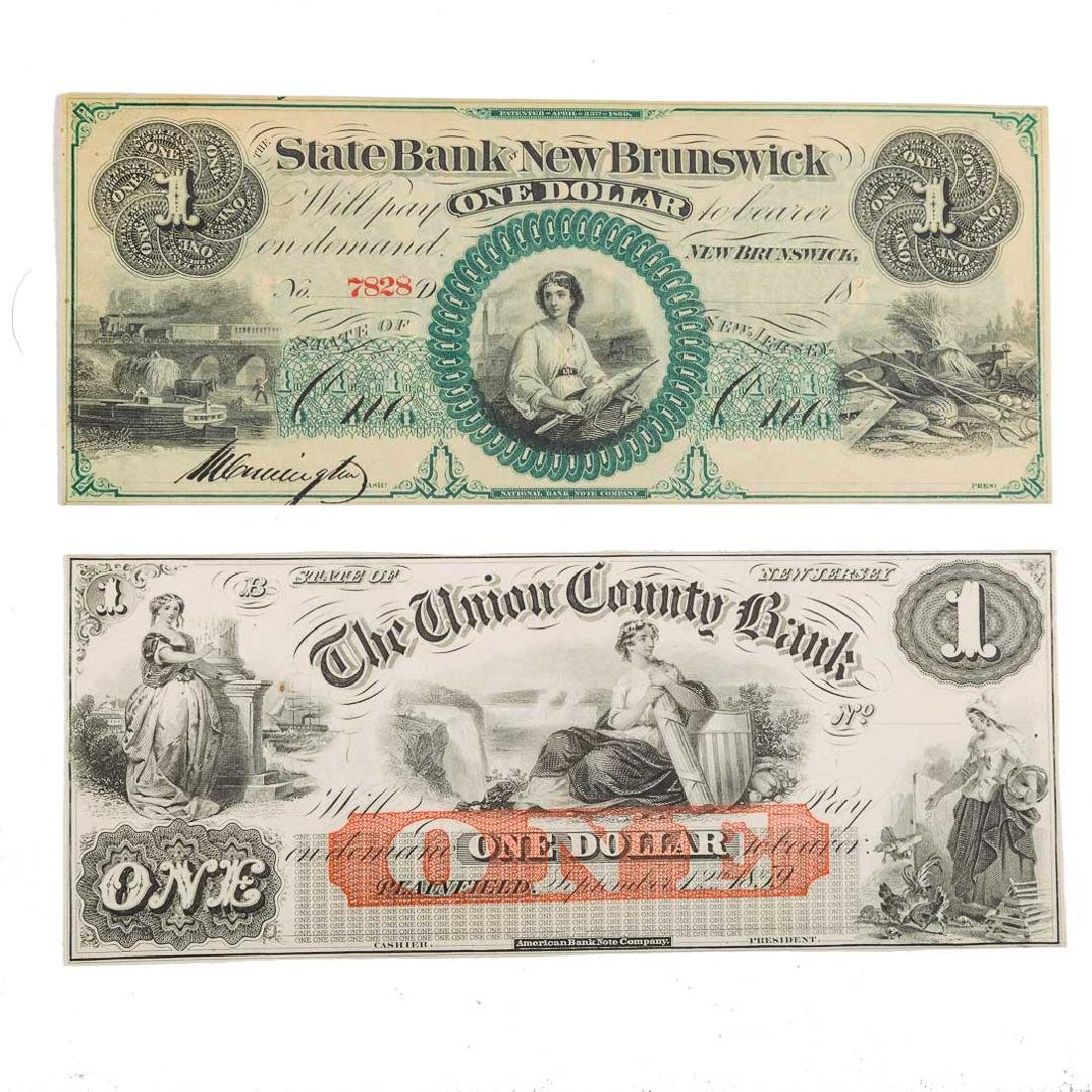 [US] Two New Jersey Obsolete Notes