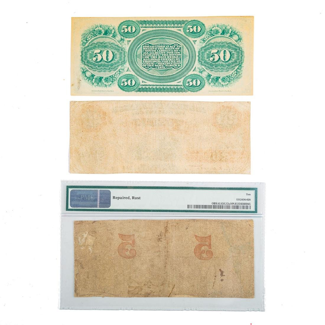 [US[ Three Southern Obsolete Notes - 2