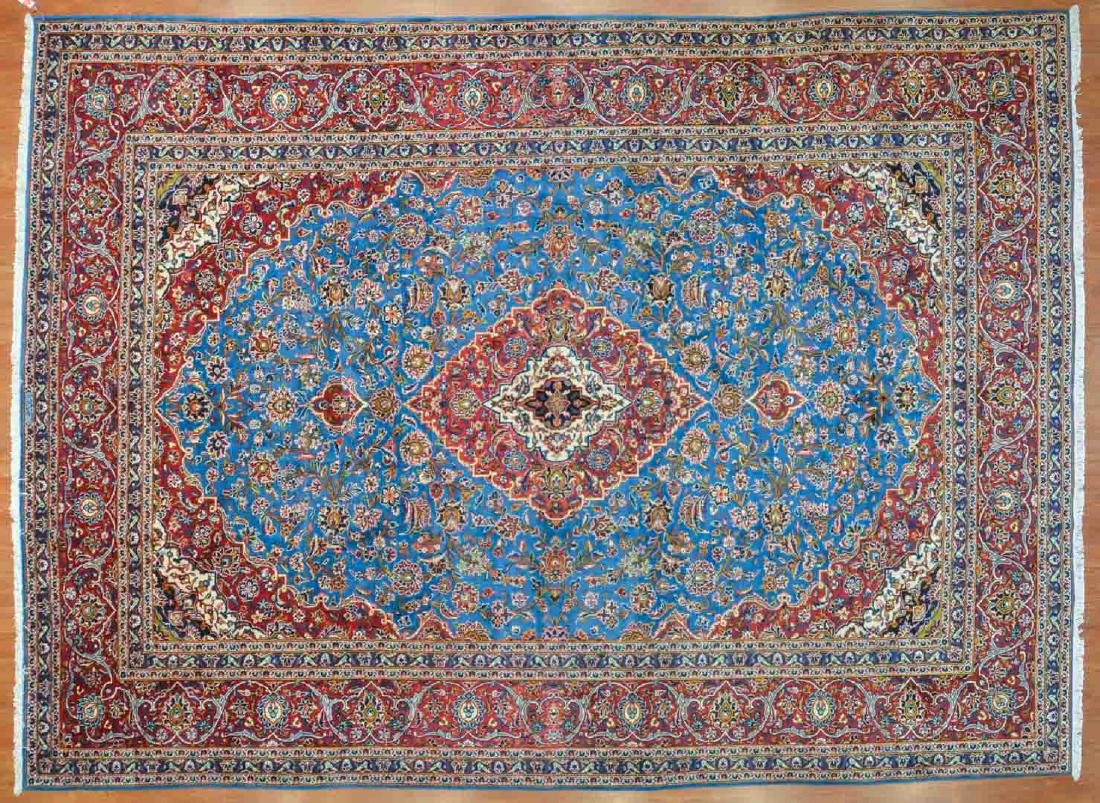 Persian Keshan carpet, approx. 9.9 x 13.3