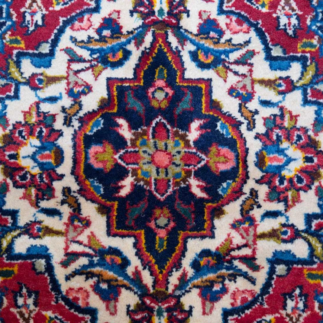 Persian Keshan carpet, approx. 9.9 x 13.3 - 4