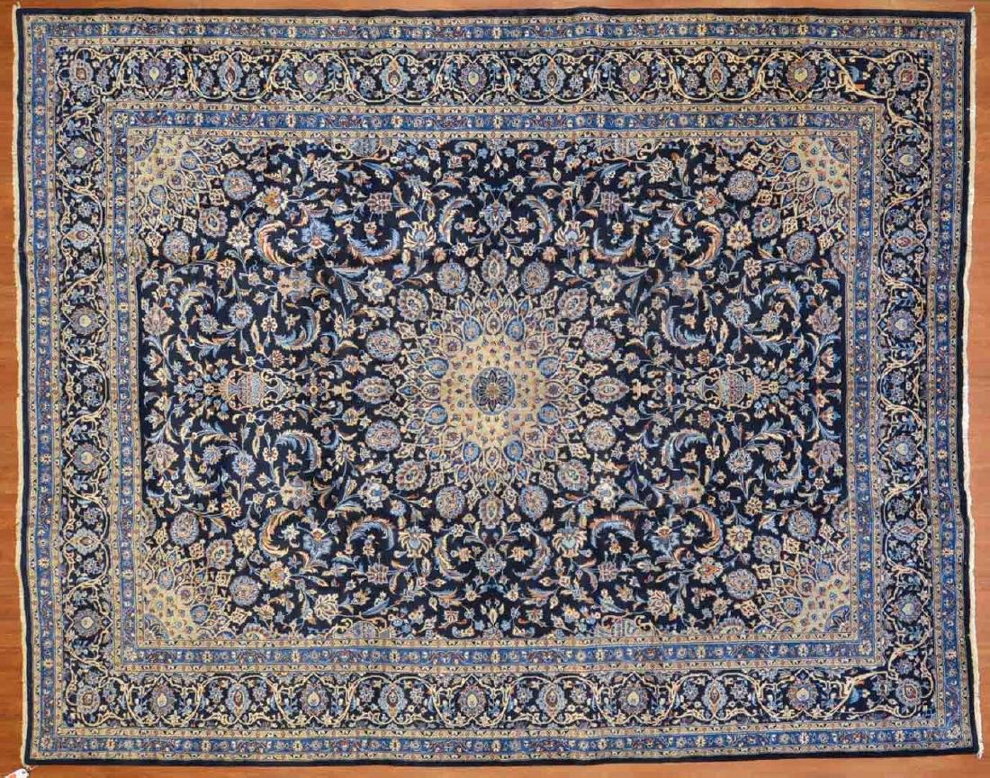 Persian Keshan carpet, approx. 9.8 x 12.3
