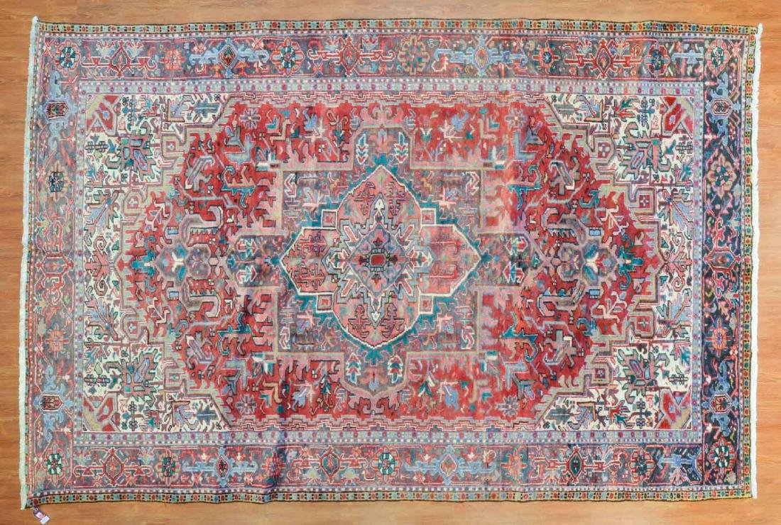 Persian Herez rug, approx. 7.7 x 11.5