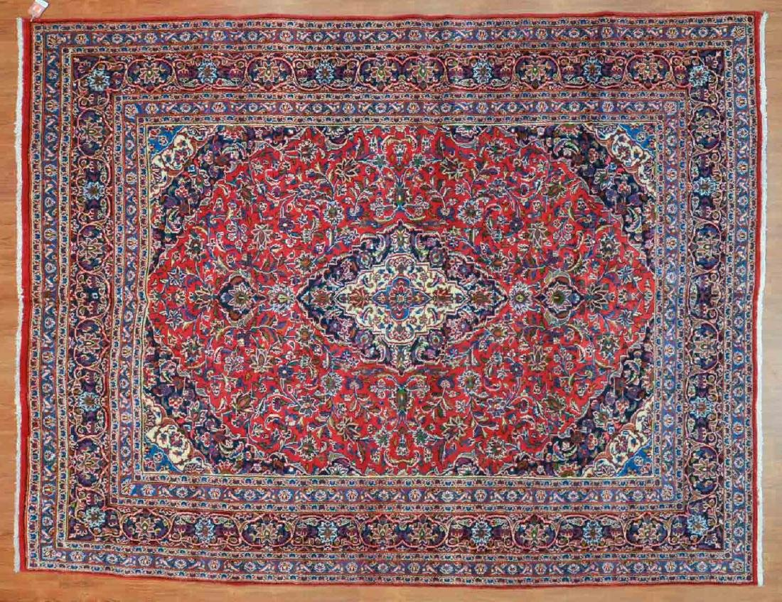 Persian Meshed rug, approx. 8.2 x 10.8