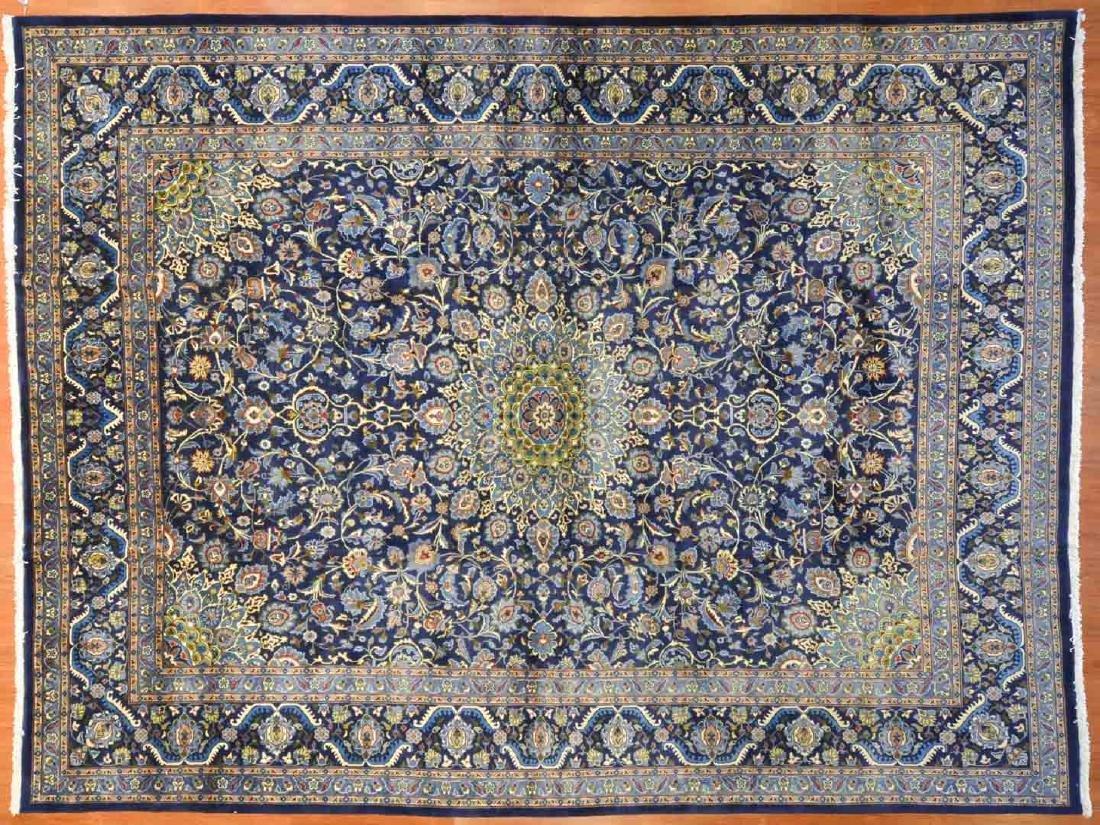 Persian Keshan carpet, approx. 10 x 13