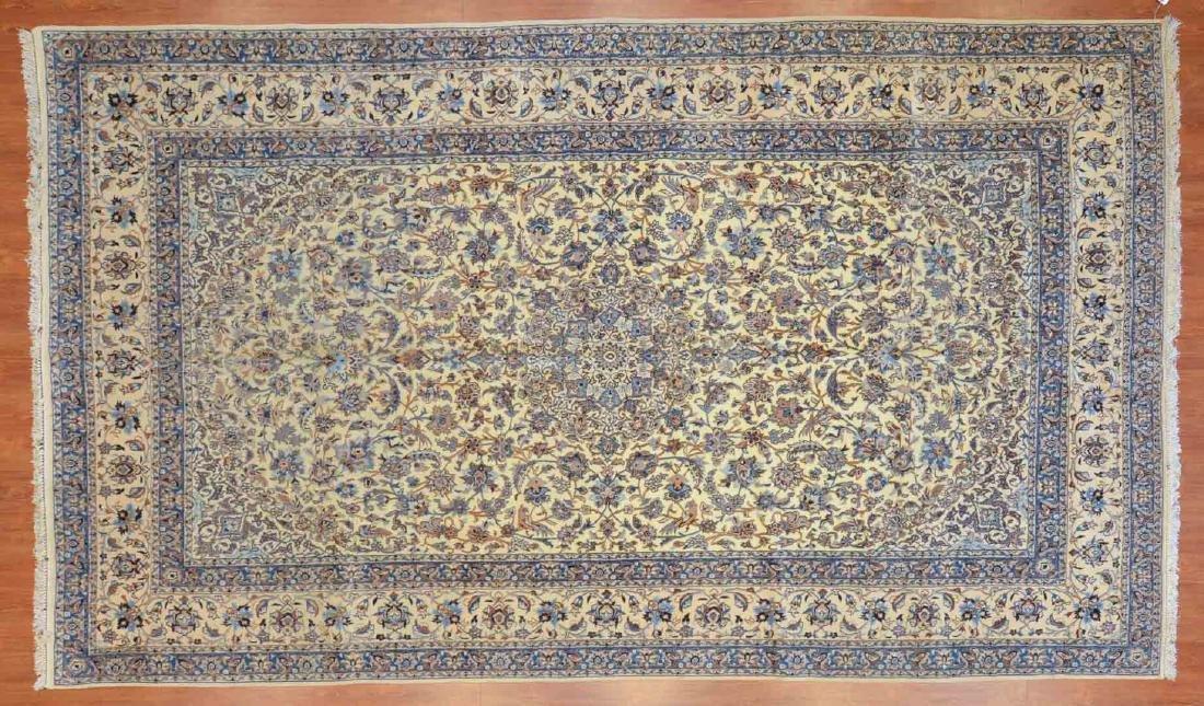 Persian Nain rug, approx. 7.2 x 12