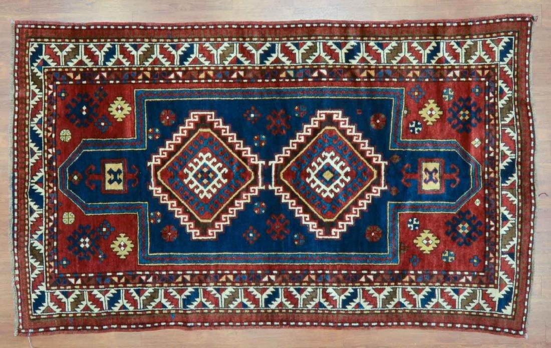 Antique Kazak rug, approx. 4.5 x 7.8