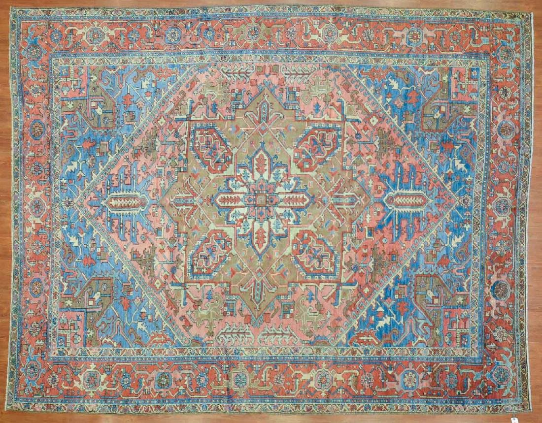 Antique Herez carpet, approx. 9.3 x 11.7
