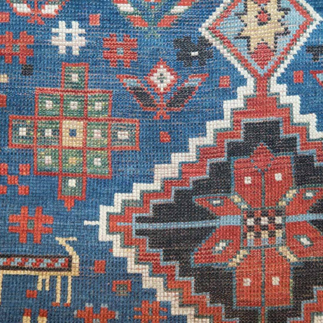 Antique Kazak rug, approx. 3.10 x 7.7 - 4