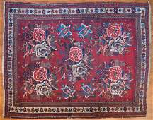 Antique Afshar rug approx 44 x 58
