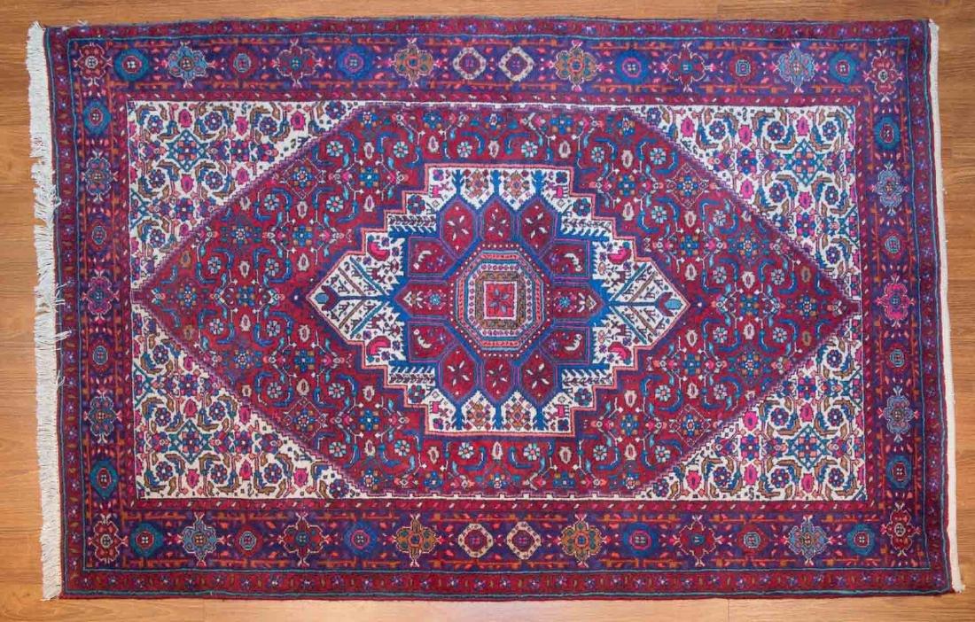 Persian Goltug Bijar rug, approx. 3.4 x 5.1