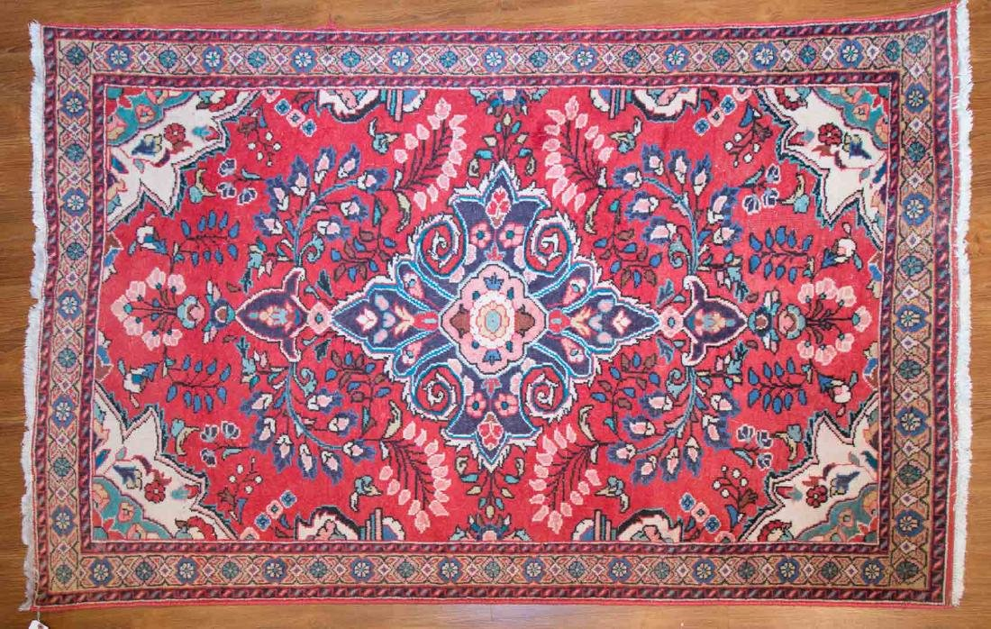 Persian Hamadan rug, approx. 4.1 x 6.6