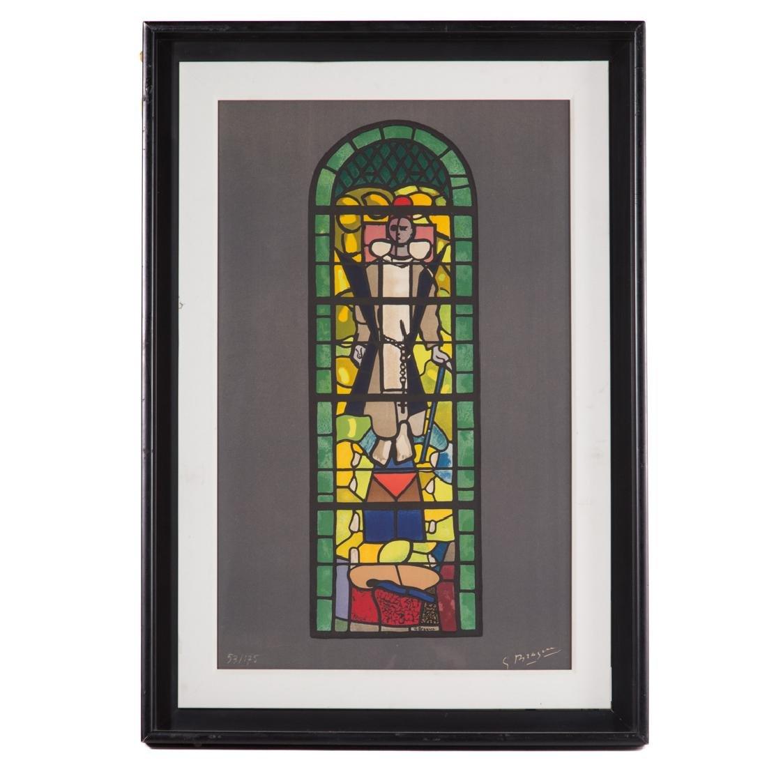 """Georges Braque. """"St. Dominique,"""" lithograph"""